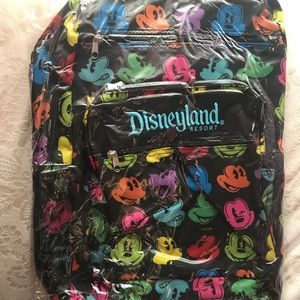 Disney Multicolor Mickey Mouse Backpack